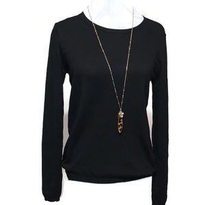 Philosophy Classic Crewneck Sweater Black Small
